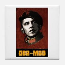Cute Obama mao Tile Coaster