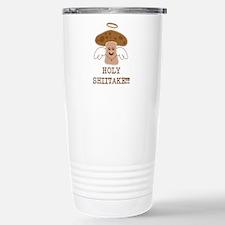 Holy Shiitake Stainless Steel Travel Mug