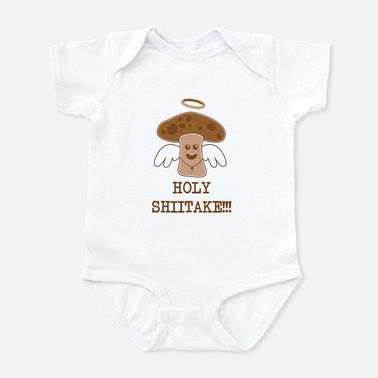 Holy Shiitake Infant Bodysuit