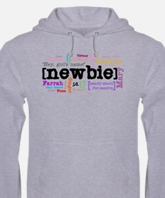 Girl's Name Jumper Hoody
