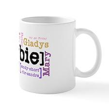 Girl's Name Small Mug