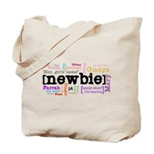 Girl's Name Tote Bag