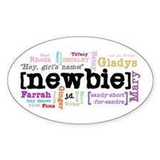 Girl's Name Decal