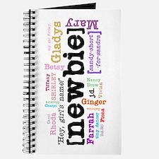 Girl's Name Journal