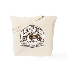 La Push Motorcycles Brown Tote Bag