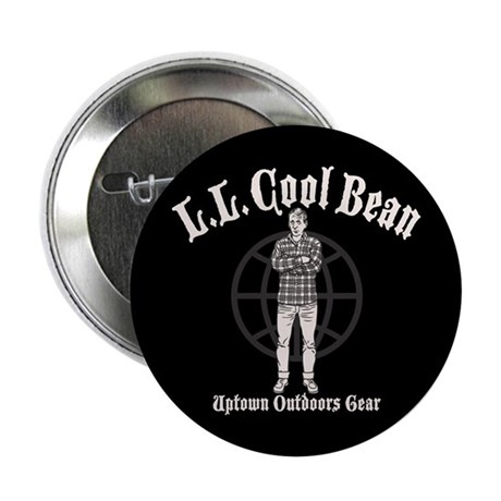"L.L. Cool Bean 2.25"" Button"