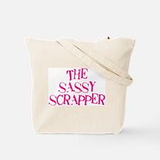 The Sassy Scrapper Tote Bag