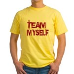 Team Myself Yellow T-Shirt