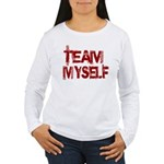 Team Myself Women's Long Sleeve T-Shirt