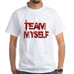 Team Myself White T-Shirt