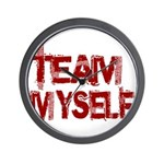 Team Myself Wall Clock