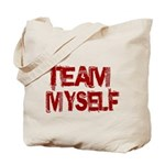 Team Myself Tote Bag