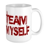 Team Myself Large Mug