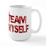 Team Myself Large Mug