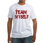 Team Myself Fitted T-Shirt