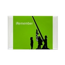 9/11 iRemember Rectangle Magnet (100 pack)