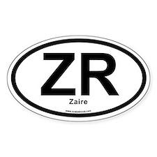 ZR Zaire Decal