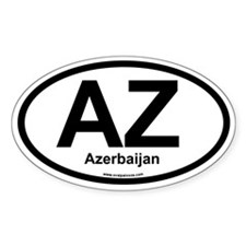AZ Azerbaijan Decal