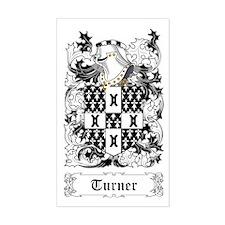 Turner [English] Sticker (Rectangular)