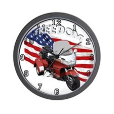 Cute Goldwings Wall Clock