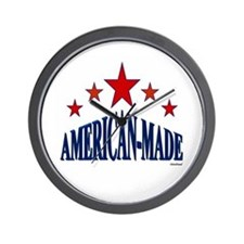 American-Made Wall Clock