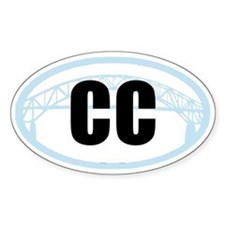 Cape Cod Sagamore Bridge Bumper Decal