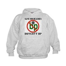Save Our Beaches Boycott BP Hoodie