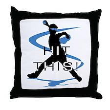 Cute Batter Throw Pillow