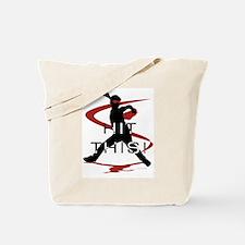 Cute Youth baseball Tote Bag