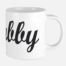 HUBBY. HUSBAND. 20 oz Ceramic Mega Mug