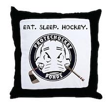 Eat. Sleep. Hockey. Pillow