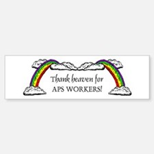 Thank Heaven APS Bumper Bumper Bumper Sticker