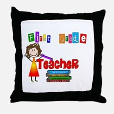 Elementary Throw Pillow