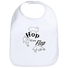Hop Till You Flop Bib