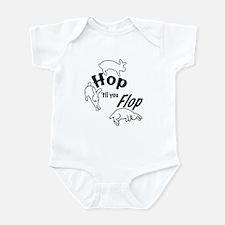 Hop Till You Flop Infant Bodysuit