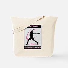 Unique Girls softball Tote Bag