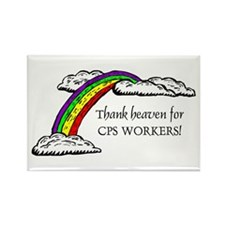 Thank Heaven CPS Rectangle Magnet (10 pack)