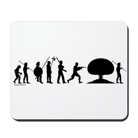 War Evolution Mousepad