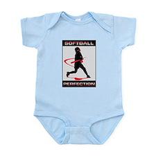Unique Softball pitching Infant Bodysuit