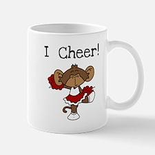 Cheerleader Red and White Mug