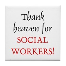 Thank Heaven SW BRT Tile Coaster