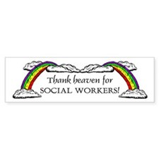 Thank Heaven SW Bumper Bumper Sticker
