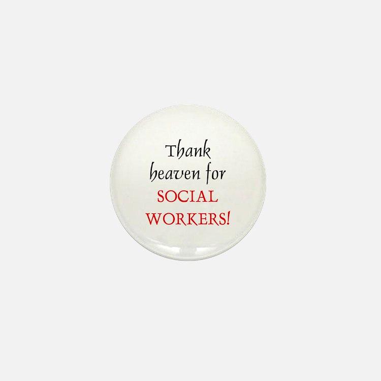 Thank Heaven SW BRT Mini Button (10 pack)