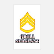 Grill Sergeant Decal