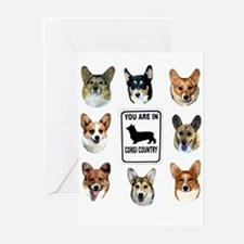You Are in Corgi Country Greeting Cards (Pk of 20)