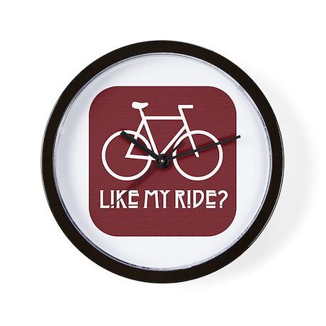 Like My Ride Bicycle Wall Clock