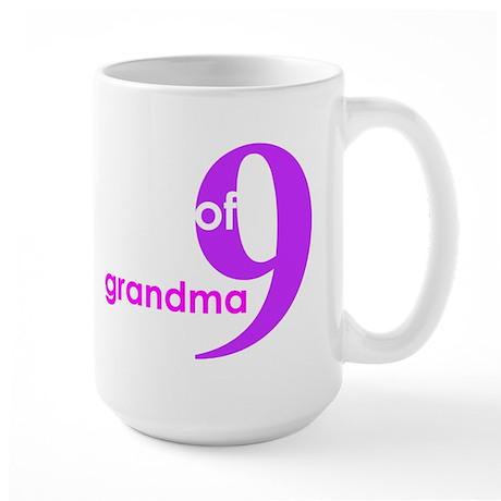 Grandma Nana Grandmother Shir Large Mug