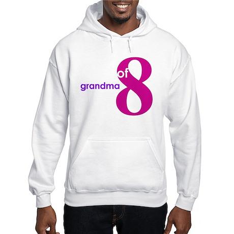 Grandma Nana Grandmother Shir Hooded Sweatshirt