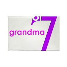 Grandma Nana Grandmother Shir Rectangle Magnet
