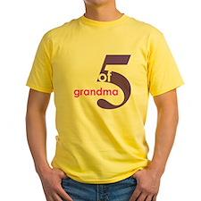 Grandma Nana Grandmother Shir T